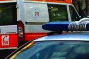 Автобус и кола в страшен сблъсък! Транспортират в болница ранено дете