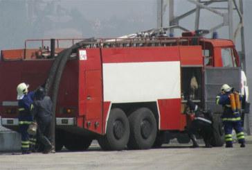 Тойота изгоря в Петрич