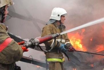 """Огнеборци гасиха пожар в благоевградския кв. """"Еленово"""""""