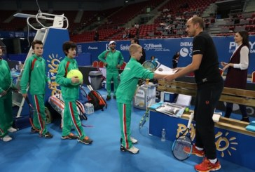 Малките тенис звезди на България тренираха с Жил Мюлер