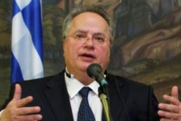 Заплахи срещу гръцкия външен министър