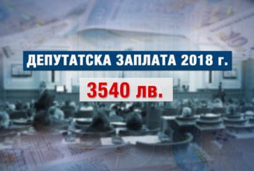 Депутатската заплата скача с 300 лв.