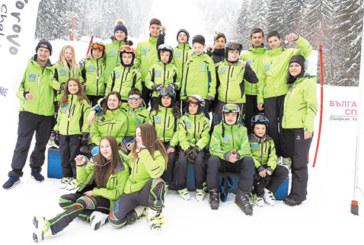 Скиорите на Разлог с 10 медала и купа от националния ученически шампионат