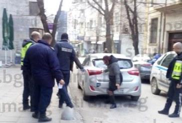 Инцидент в ценъра на Благоевград! Шофьор помете пешеходка