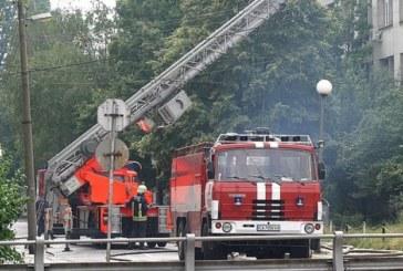 Апартамент в Благоевград лумна в пламъци