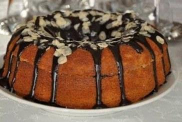 Кекс с пълнеж от течен шоколад