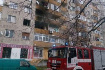 Огнена драма! Пожар изпепели жилището на дъщерята на бивш шеф на Радио Благоевград
