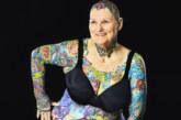 69-годишна е най-татуираната жена в света