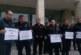 Съдебните охранители от Благоевград излязоха на протест