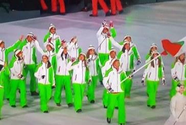 Радо Янков развя българския флаг на откриването на олимпиадата