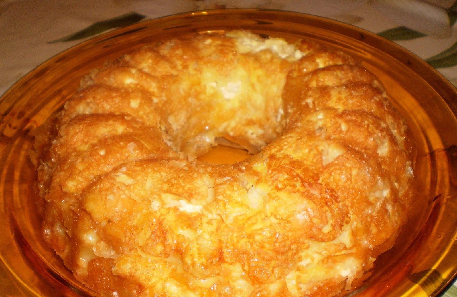 Бърза баница в кексова форма