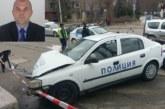 Ексклузивно! Полицейски шеф катастрофира със служебен автомобил, рани колежка