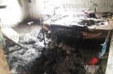 38-г. от Долно Драглище за втори път остана без дом заради незагасена цигара, огнеборци го спасиха, той налетя с нож на санитарите в Благоевград