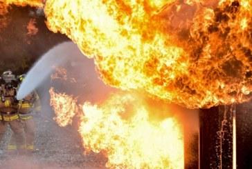 Късо съединение подпали офис в Кюстендил, 2 пожарни екипа на крак