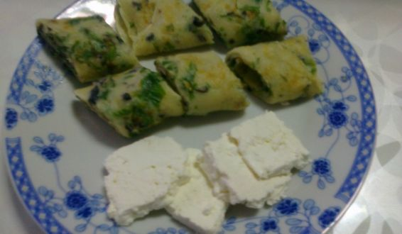 Палачинки със сирене