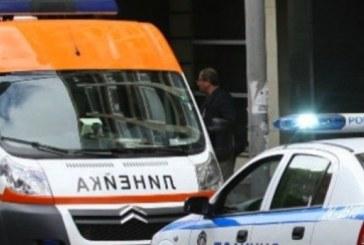 Сблъсък на кръстовище в Пиринско! Рено удари мерцедес, има ранен