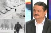 Доц. Георги Рачев с ледена прогноза: Идва много сняг с преспи и – 14 градуса