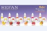 Козметика с плодови аромати от REFAN зарежда с настроение през пролетта
