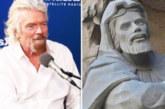 В Барселона откриха статуя на милиардера Ричард Брансън
