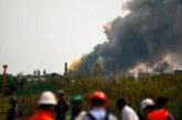 Ексклузивни снимки от страшната експлозия в химически завод