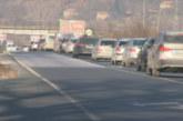 Натоварен трафик след празничния уикенд