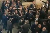 Турски депутати се биха в парламента