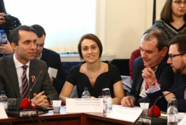 Гинка Върбакова дойде в парламента