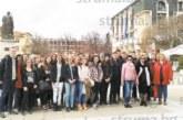 Гимназисти от Езиковата гимназия изненадаха с пикник на Бачиново връстници от Германия