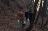 ШОК! Чисто гол мъж излезе на разходка в планината