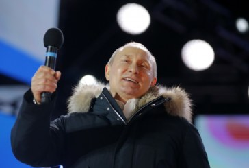 Убедителна победа на Путин за нов 6-годишен мандат