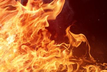 """Нов пожар в хале на петричкия бизнесмен С. Мантарлиев! С коктейл """"Молотов"""" подпалиха гръцки цех за мебели в Марикостиново"""