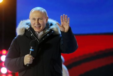 Ето къде Путин спечели най-много гласове според данните от ЦИК