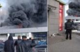 Огнен ад в Петербург, евакуират хора