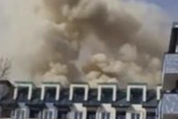 Огнен ад в Студентски град, евакуират хора
