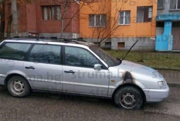 """Драснаха клечката на автомобил в благоевградския кв. """"Еленово"""""""