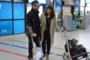 Джино предизвика фурор на летището!