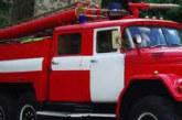 Пожар гори пред бившето Детско отделение на МБАЛ – Благоевград