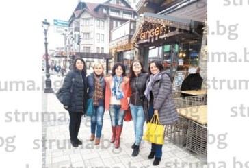 С двудневен релакс в Банско ЮЗУ преподавателки празнуваха закъсняла Коледа