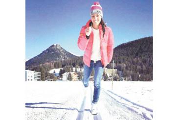 Ски писалка от Самораново с  нигерийско-българска кръв  победителка  за Балканската купа