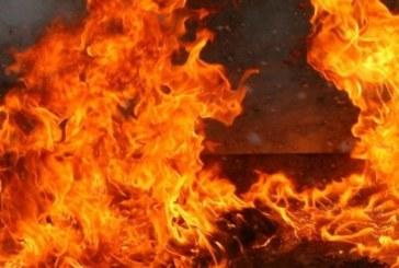 Запали се стърнище край гробището на Бистрица