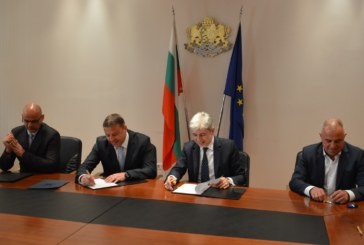 Кметът Камбитов подписа договор с МОСВ за безвъзмездна финансова помощ