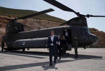 Хеликоптерът на Алексис Ципрас притиснат от изтребители