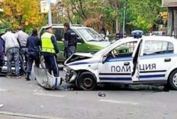 """Полицай отнесе тузарско """"Ауди"""""""