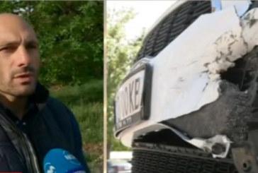 Кола с благоевградска регистрация мина на червено и предизвика страшна катастрофа, ранен е полицай
