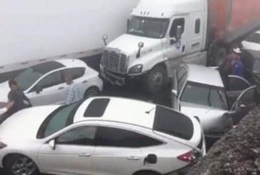 Верижна катастрофа, 15 са ранените