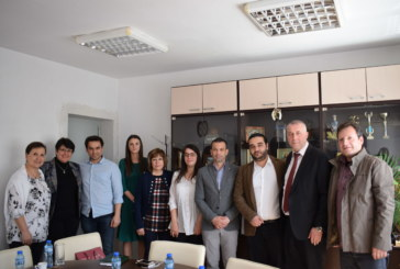 Кметът Кирил Котев посрещна чуждестранни делегати в Сандански