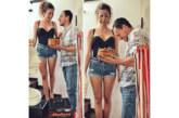 БОМБА В НЕТА! Благоевградчанката Алекс бременна в четвъртия месец, съпругът й Д. Петканов постна щастливата вест