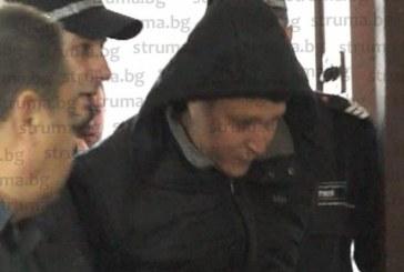 Обвиненият за обира на банкомата в Сапарева баня Г. Динев посреща великденските празници в ареста