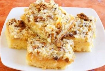 Гръцки кейк с локум и орехи