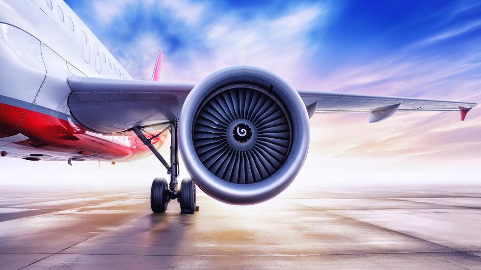 Двигателят на самолет отказа, после всичко стана за секунди